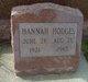 Profile photo:  Hannah <I>Baker</I> Hodges