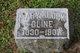 Profile photo:  Mary <I>Klock</I> Cline