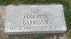 Anna Ruth <I>Miller</I> Garrison