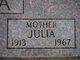 "Profile photo:  Julianne ""Julia"" <I>Turanchik</I> Buza"