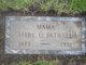 "Mary Crawford ""MaMa"" <I>Jones</I> Patwell"