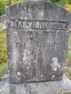 """Mary D """"Polly"""" <I>Fuller</I> Morey"""