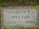 Charles RG Peyton