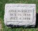 Profile photo:  Anna <I>Chaddock</I> McKinley