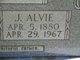Profile photo:  Alvie J. Jones