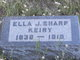 Profile photo:  Ella J <I>Sharp</I> Keiry
