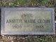 Profile photo:  Annette Marie <I>Johnson</I> Crosby