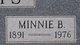 Minnie Bell <I>Rogers</I> Davis