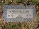 Fanny Bertha <I>Froehner</I> Seim