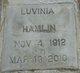 Profile photo:  Luvenia Hamlin