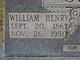 William Henry Clark