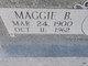 """Profile photo:  Betty Magdalene """"Maggie"""" <I>Burnett</I> Baker"""