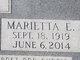 Profile photo:  Marietta Elizabeth <I>Repp</I> Barr