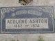 Profile photo:  Adelene E. Ashton