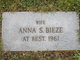 Anna M. <I>Stowers</I> Bieze
