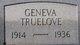 Geneva <I>Whitehead</I> Truelove