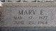 Mary Elizabeth <I>Crook</I> Moorhead