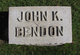 Profile photo:  John Bendon