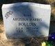 Profile photo:  Arizona <I>Harris</I> Bouldin