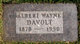Profile photo:  Albert Wayne Davolt