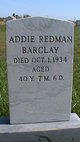 "Profile photo:  Adda Redman ""Addie"" <I>Penner</I> Barclay"