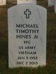 Profile photo:  Michael Timothy Hines, Jr