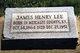 James Henry Lee