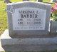 Profile photo:  Virginia L. Barber