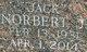 """Profile photo:  Norbert John """"Jack"""" Allgeier, Jr"""