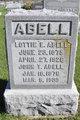 Lottie Elizabeth <I>Brown</I> Abell