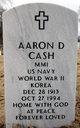 Profile photo:  Aaron D Cash