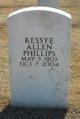 Ressye Allen Phillips