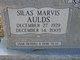 Silas Marvis Aulds