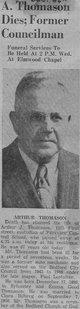 Profile photo:  Arthur J Thomason