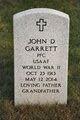 Profile photo:  John D Garrett