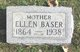 Profile photo:  Ellen <I>Clymer</I> Baser