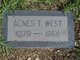Profile photo:  Agnes <I>Thompson</I> West