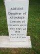 Profile photo:  Adeline <I>Parker</I> Miller
