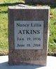 Nancy Lillis Atkins