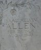 "Profile photo:  Isaac Melvin ""Ike"" Allen"