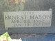 Profile photo:  Earnest Mason Basham