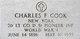 Lieut Charles Francis Cook