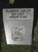 Profile photo:  Blanche Adler