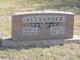 Mary Ann <I>Davis</I> Alexander