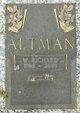 Profile photo:  William Richard Altman