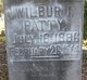 Profile photo:  Wilburn I Patty