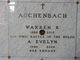 Profile photo:  A. Evelyn <I>Rhoads</I> Auchenbach