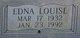 "Profile photo: CWO Edna Louise ""Lou"" <I>Ezell</I> McCarty"