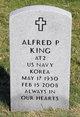 Profile photo:  Alfred Paul King
