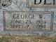 Profile photo:  George Washington Bentley